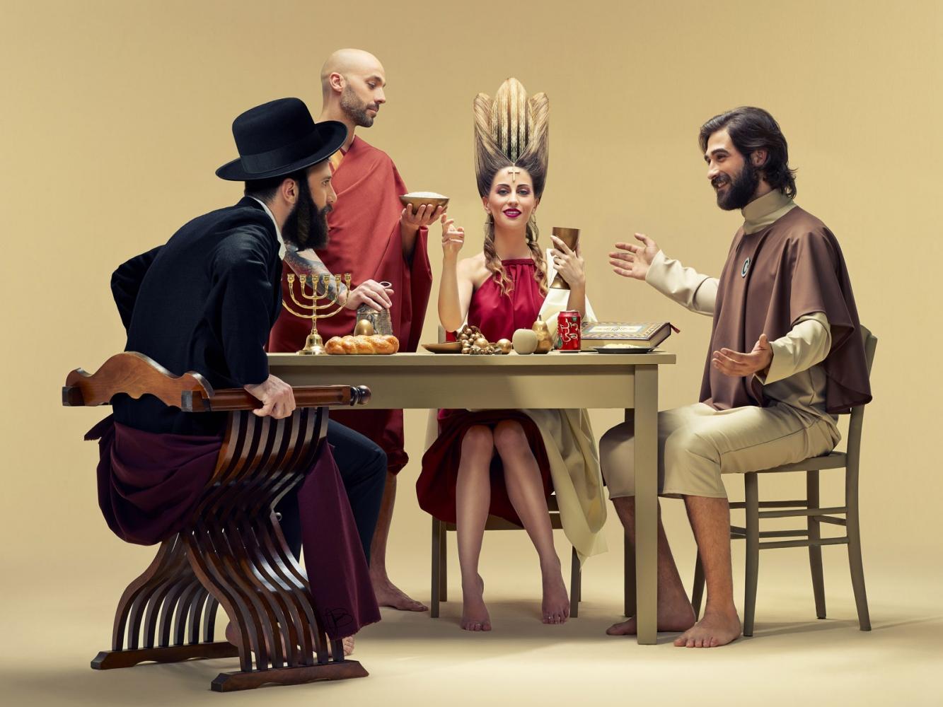 Sacro Pasto- Lux Et Filum A contemporary vision of Caravaggio