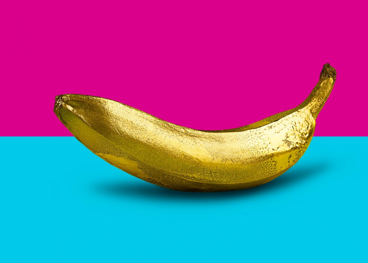 Banana Golden Pop Art Studio 2