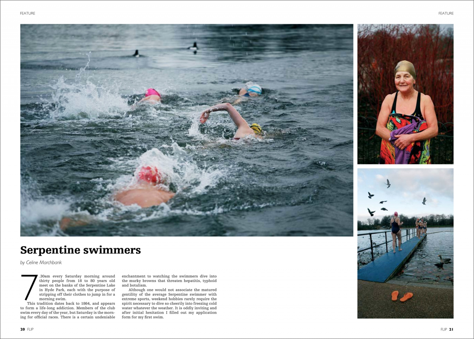 London Independent Photographers Magazine feature.