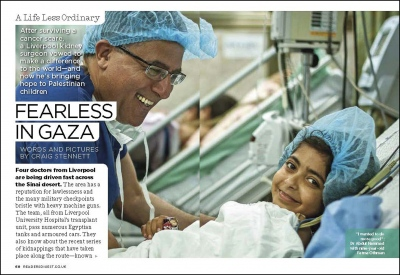 'Fealess in Gaza'-Readers Digest (UK)    Gaza Strip