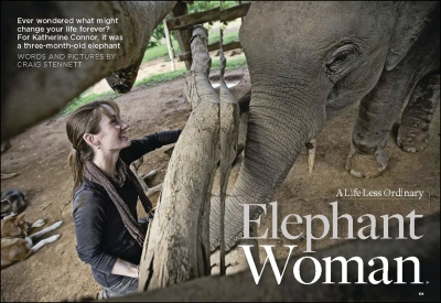 'Elephant Woman'-Readers Digest (UK)    Thailand