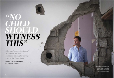 'No Child Should Witness This'-Readers Digest (UK)    Gaza Strip