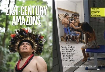 '21st Century Amazon'-Readers Digest (UK)    Brazil