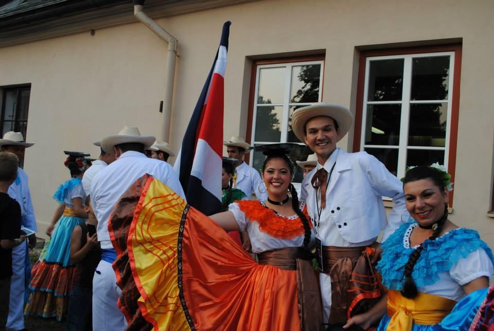 Folklor festival in Šumperk 2015
