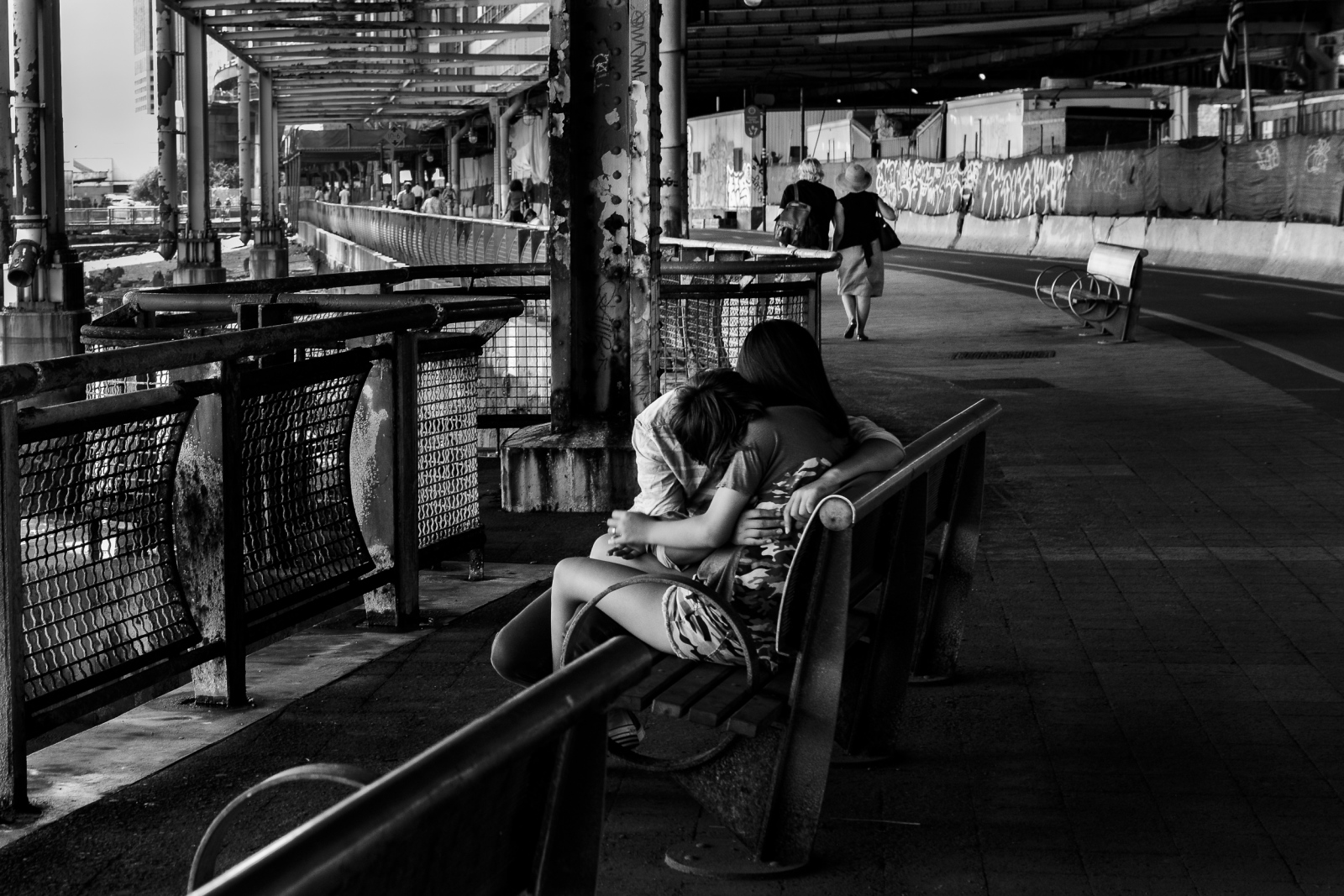Love by the East River, NYC