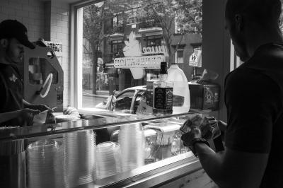 Jack Daniels and Juice for Breakfast, Brooklyn, NY
