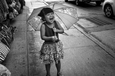 Rainy Day Chinatown,NYC