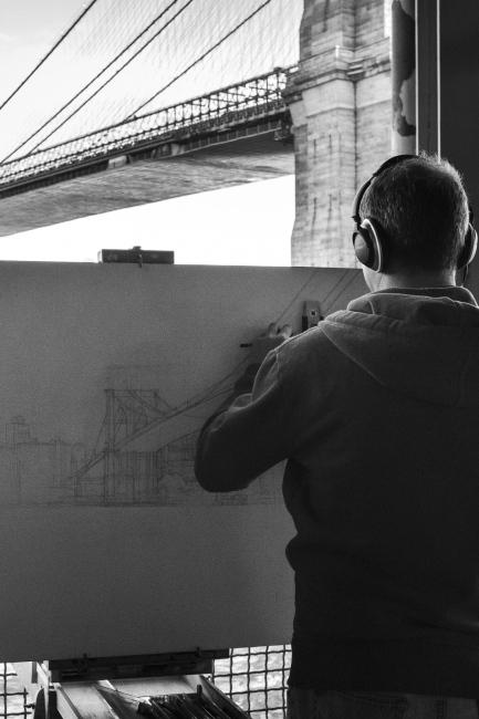 Draw Bridge, Manhattan,NYC