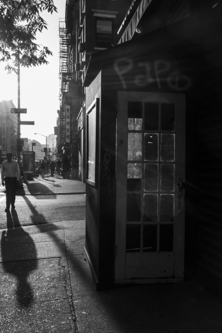 The Golden Hour in BW, Lower East Side, NYC