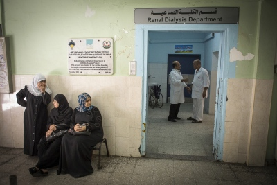The Renal Dialysis Department of the Al Shifa Hospital. The department dispenses treatment for roughly 500 patients which kidney failure, who require dialysis 3 times per week.