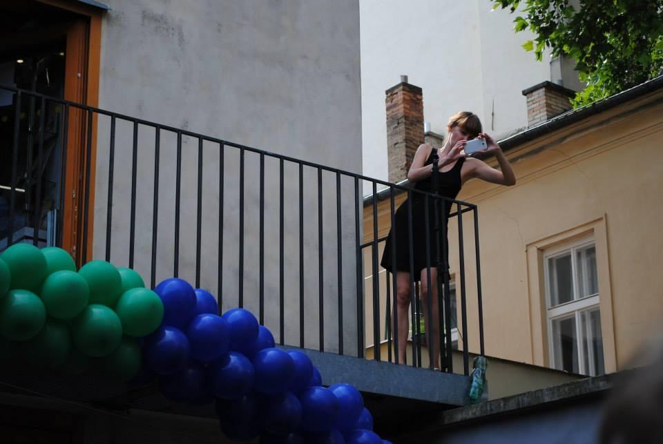The Prague Pride parade