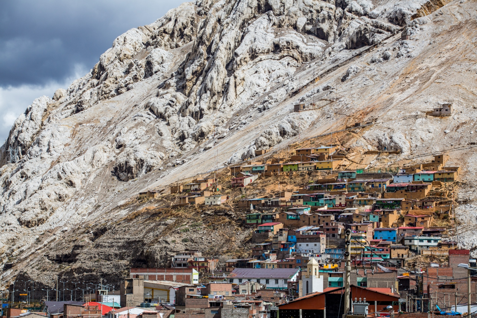 La Oroya, one of the most polluted cities in the world. From a Pulitzer Center for Crisis Reporting funded project on the environmental impacts of mining in the highlands of Peru.