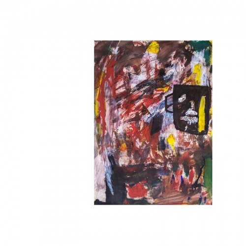 85x60 cm, Oil on paper
