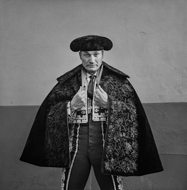 The matador Julio Aparicio, Seville.