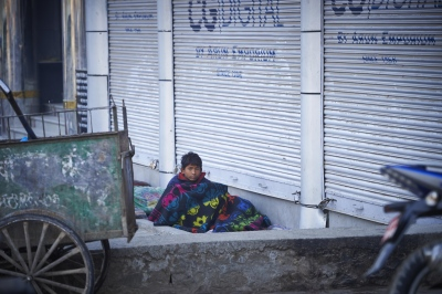 Sanim (15), had been lured by his friends to believe that sleeping on the streets was easy because it is the capital, he says that they were wrong.