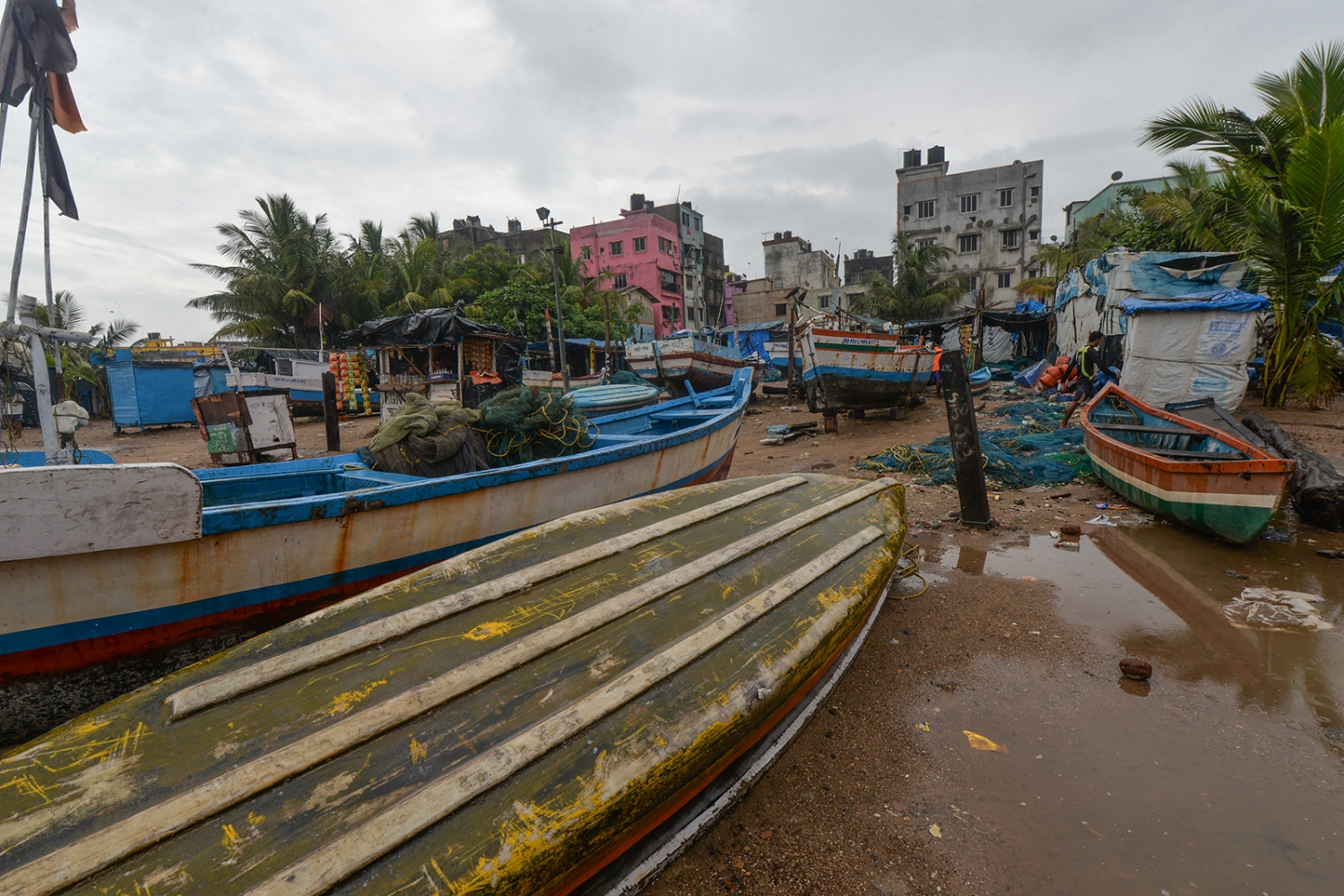 Versova fishing village. Mumbai, India.