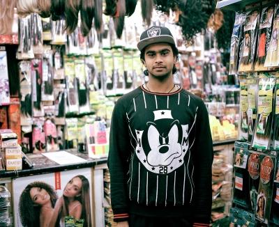 This is Rajindar, he works with Sonu in Beauty Queens Cosmetics.