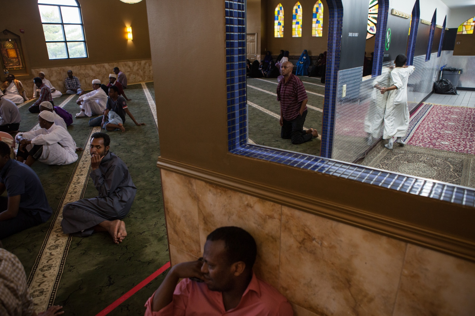 Karmel, one of two major Somali malls in Minneapolis, hosted a Quran reading competition for children in its upstairs mosque — the event drew Somali families from all over the country.