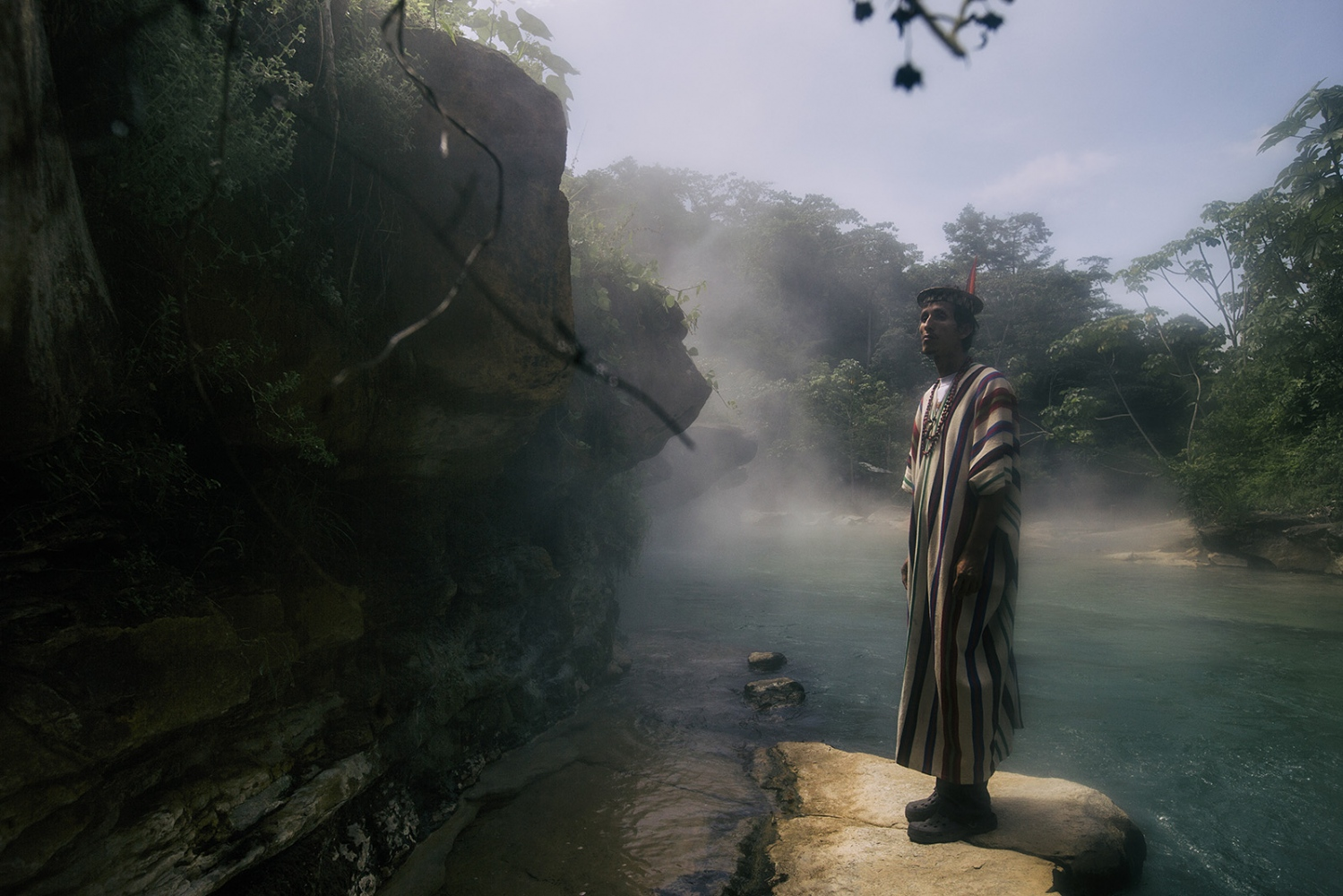 Enharte, 36 years old, assistant and thenshaman in Mayantuyacu since his 30.