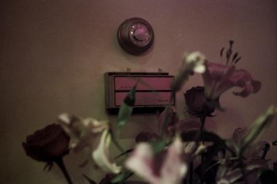 The thermostat at China Chalet,New York, NY