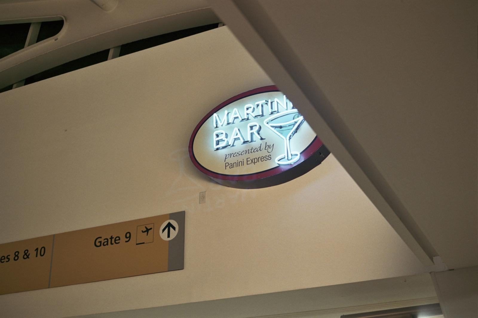 Airport bar,New York, NY