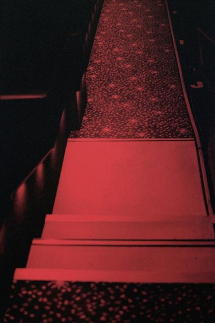 Movie theater floor,New York, NY