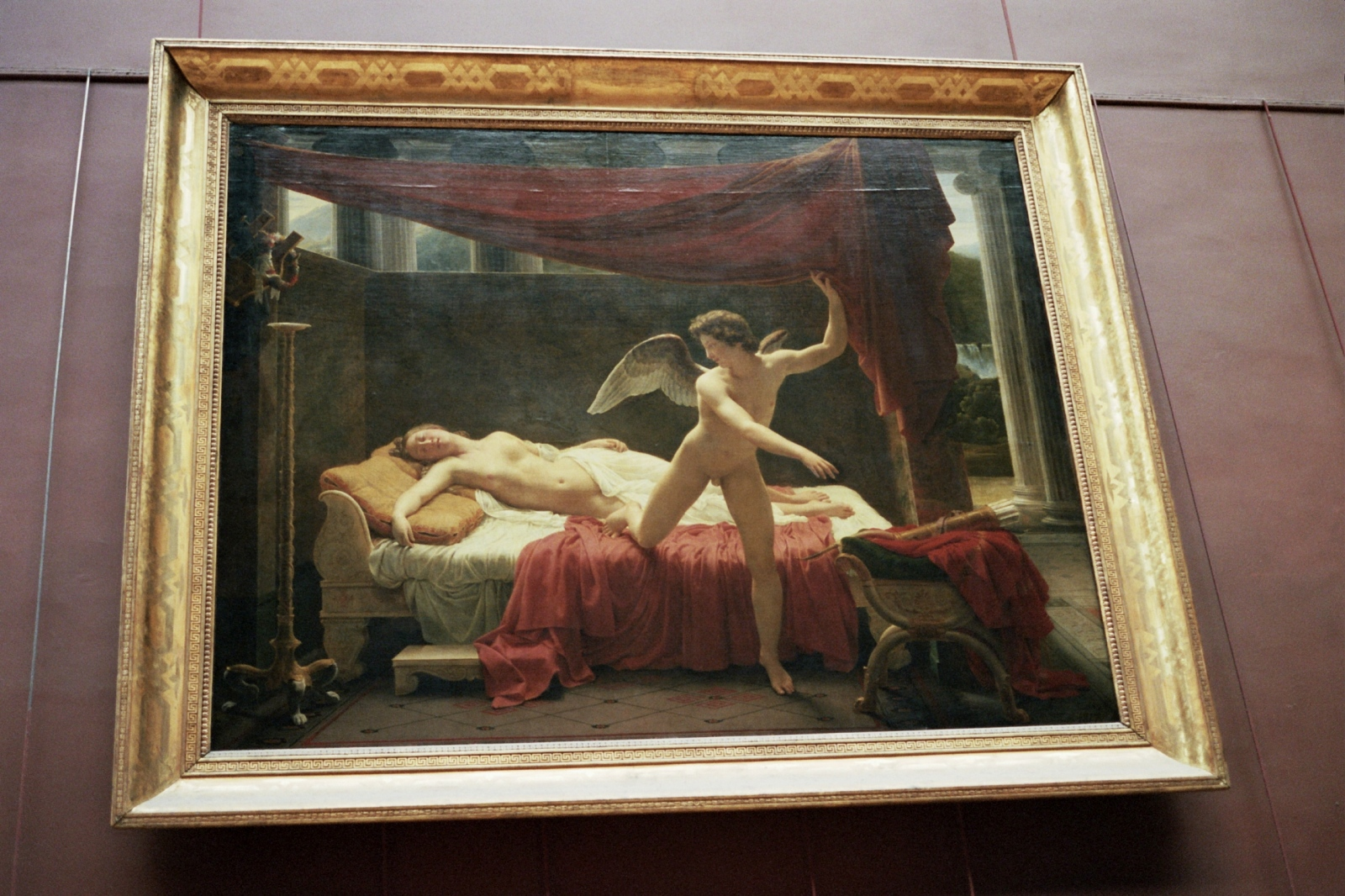 Eros and Psyche at the Louvre, Paris, France
