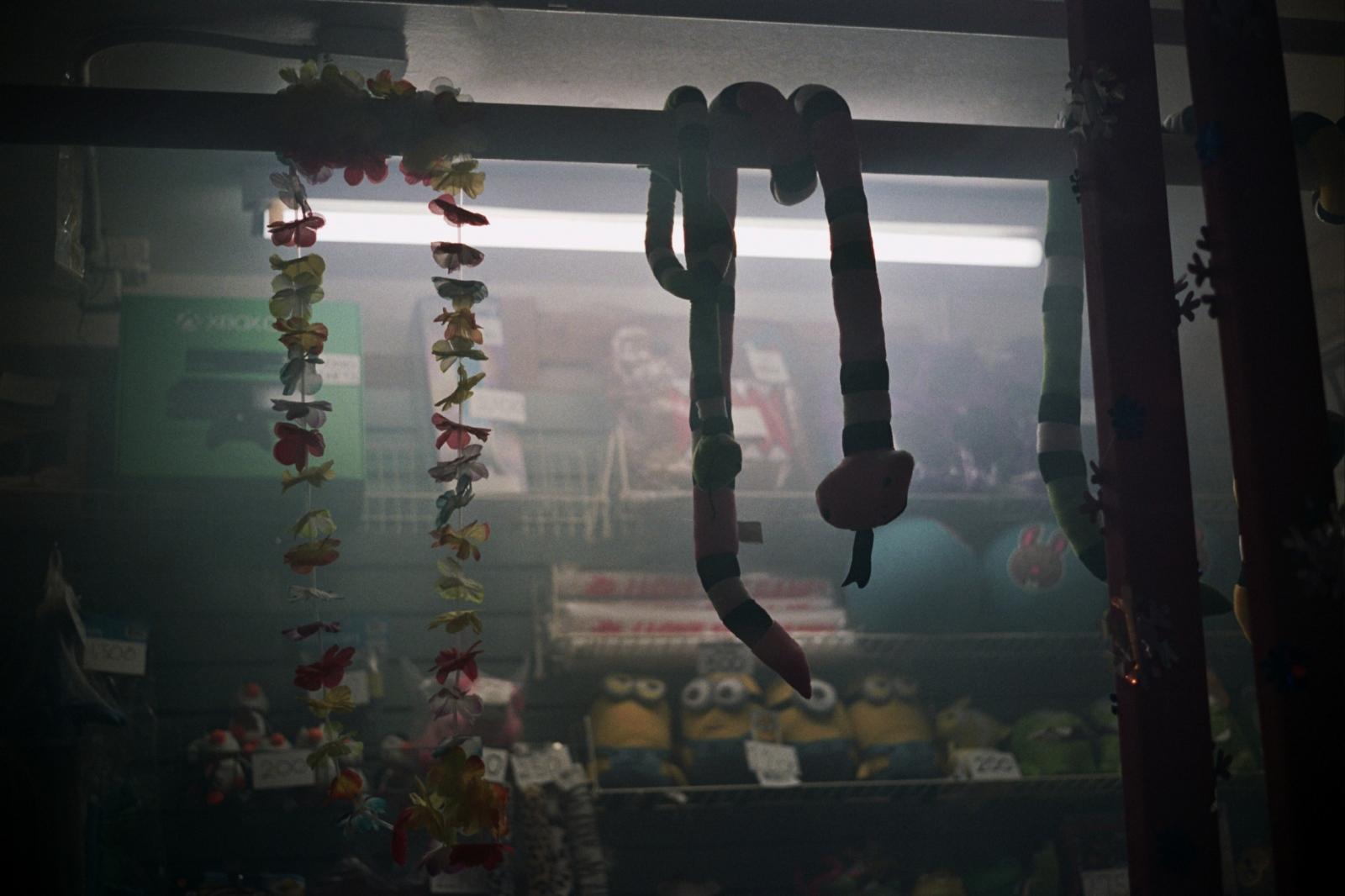 Prizes at the arcade in Chinatown, NY, NY