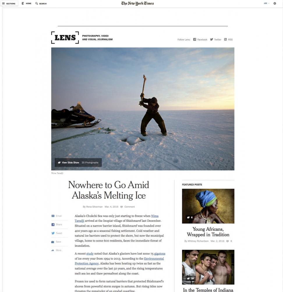 Art and Documentary Photography - Loading shishmaref_nima_taradji_Alaska.jpg