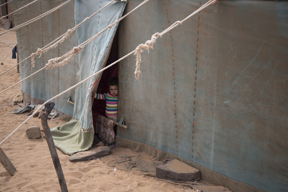 Behind The Wall, life of the Sahrawi