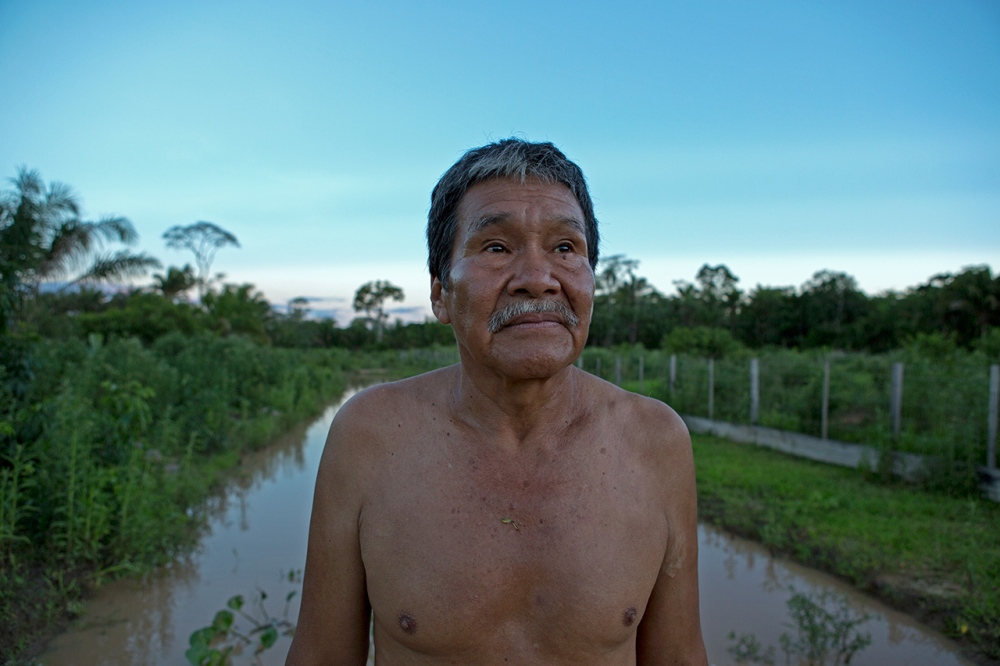 Don Pedro is in charge of the project in Santa Rita.
