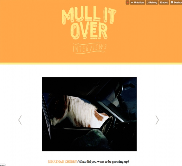 Photography image - Loading MullItOver_ScreenShot.jpg