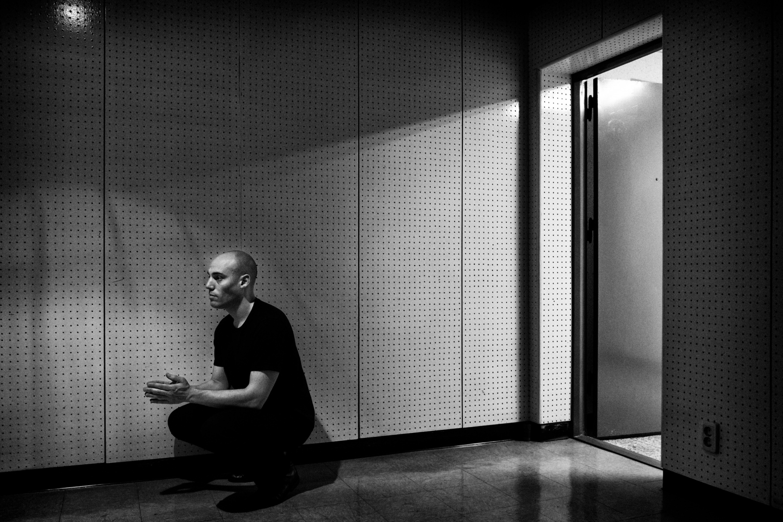 Joshua Oppenheimer, film director. Seoul, 2015.