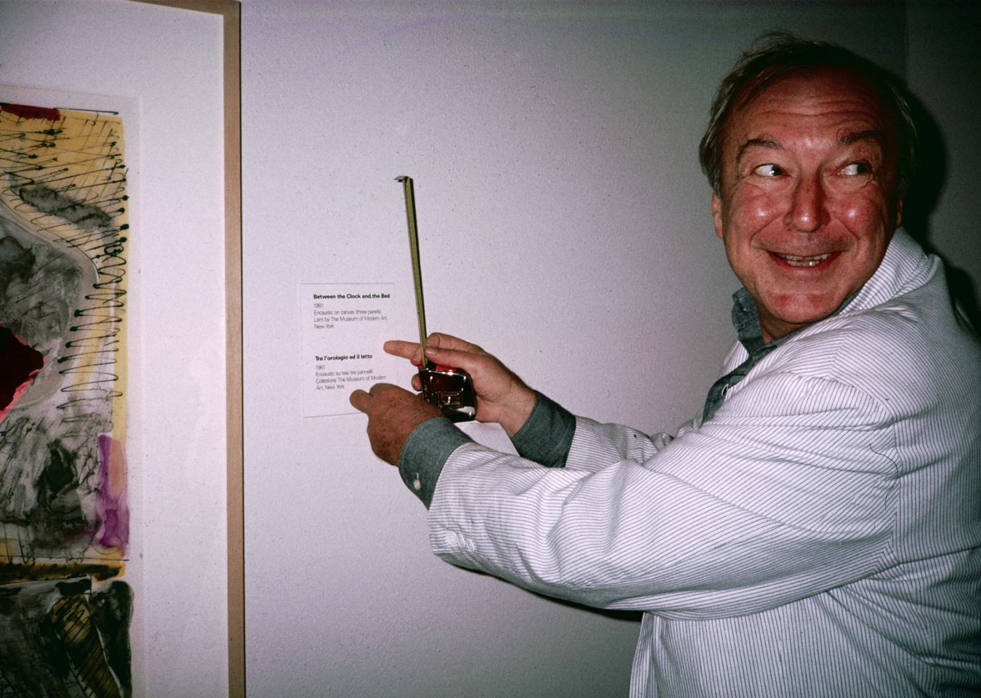 Jasper Johns, Venice Biennale 1988