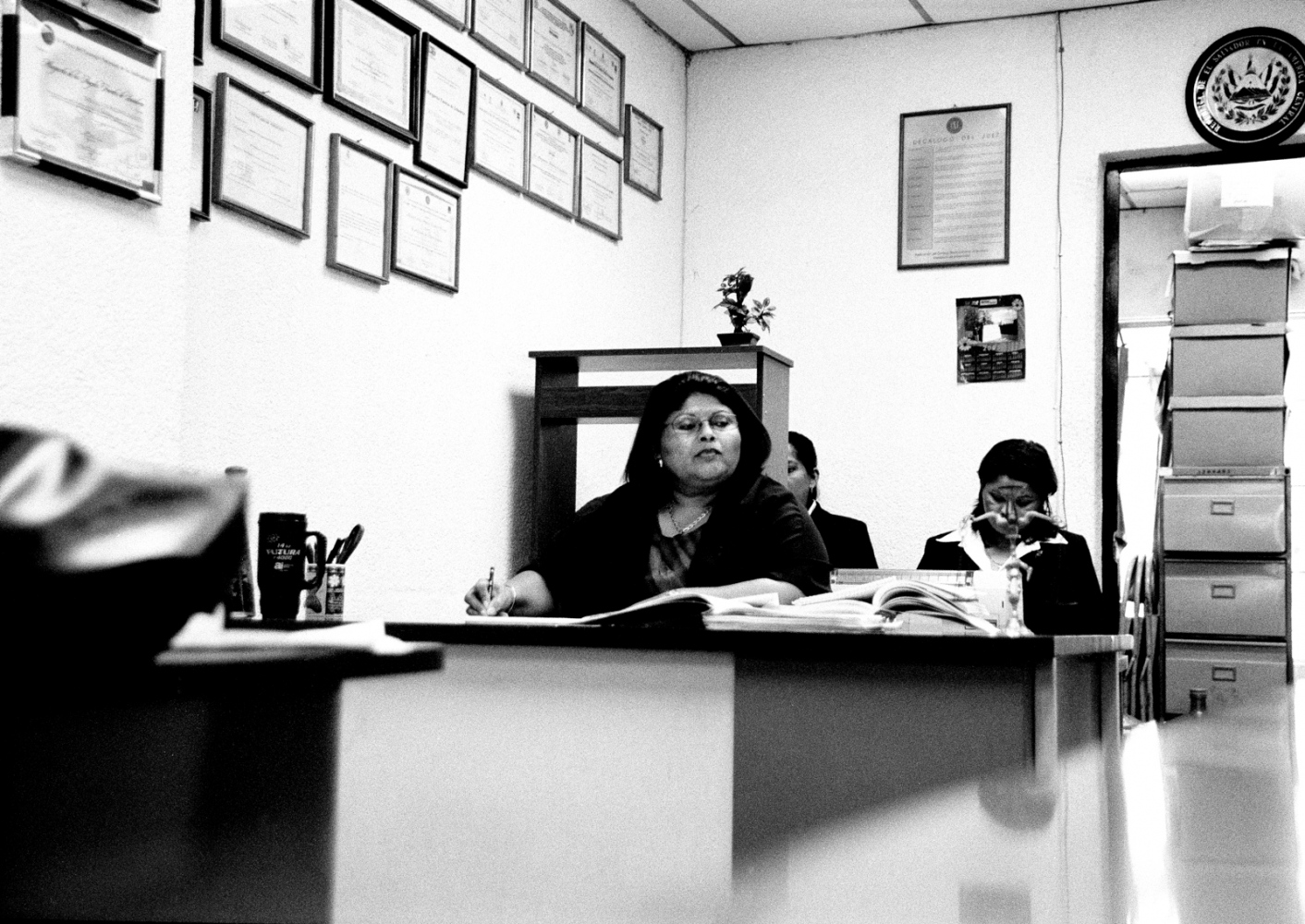 "Margarita Sanabria, a magistrate who has handled several abortion cases. ""The more years one can send someone away for, the better it is for the prosecutors,"" she says. 2006"