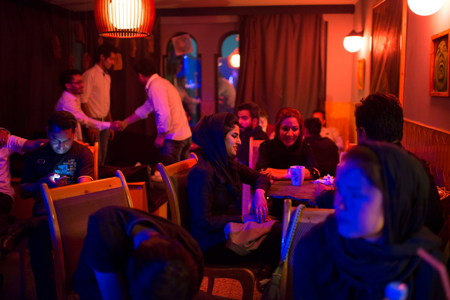 "KABUL, AFGHANISTAN | 2015-06-16 | Cactus Cafe is the newest addition to Kabul's trendy cafe scene, that has a beautiful patin and indoor stage that different music bands take it over every night. In the past, the culture of ""cafe neshini"" (hanging out at cafes) was a manly activity where as now, in the recent years, it has become very popular among afghan girls and boys, especially in western kabul. Everyday a new cafe pops out in Pule Surkh in Karte 3 neighborhood."