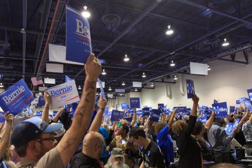 Bernie Takes Nevada