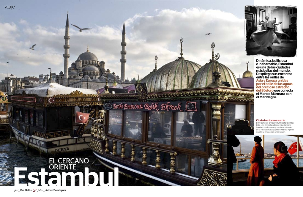 Istanbul for G+J (Spain) 4 pages