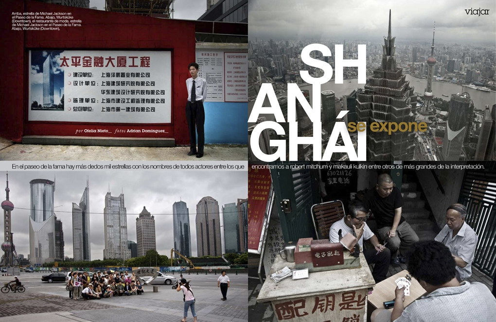 Shanghai for G+J (Spain) 4 pages
