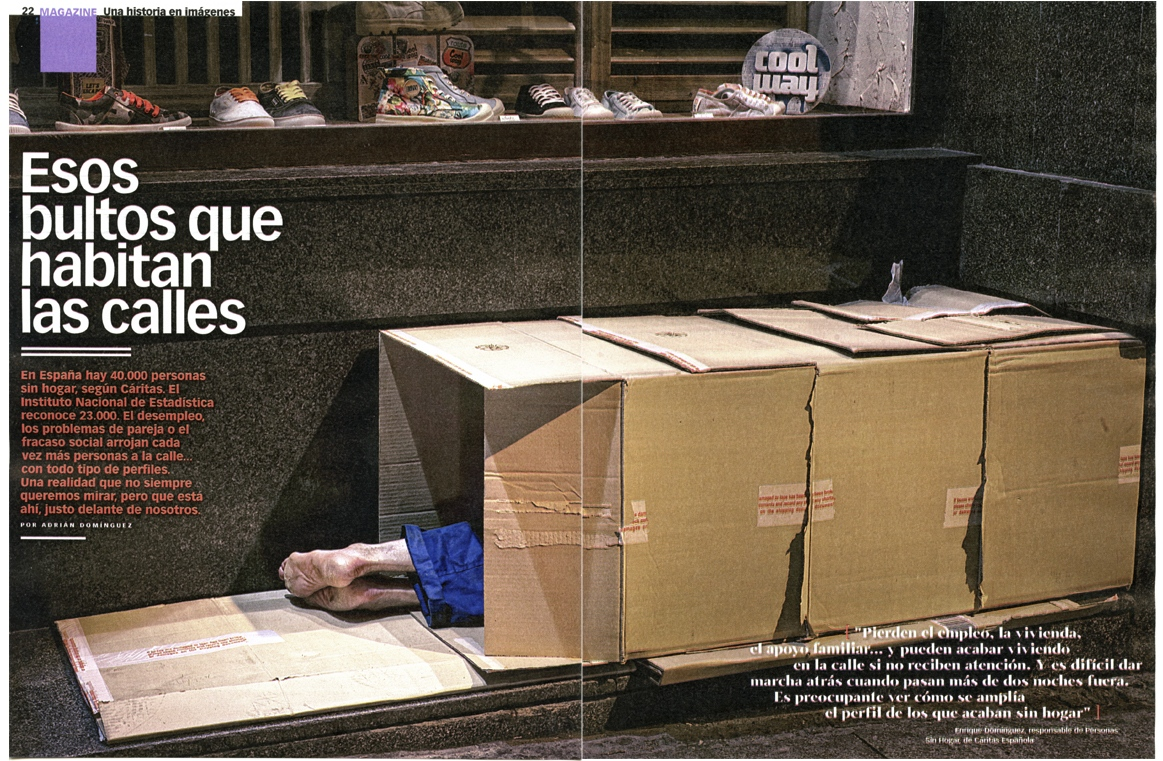 Social Extreme for XLSemanal (Spain) 6 pages