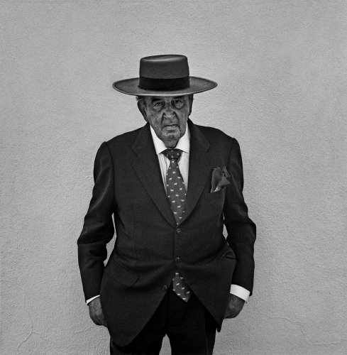 The rancher Fermin Bohirquez, Ronda.