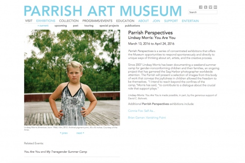 The Parrish Art Museum Featuring Lindsay Morris' You Are You