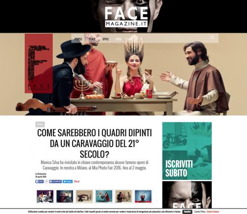 FACE MAGAZINE  ITALY 2016