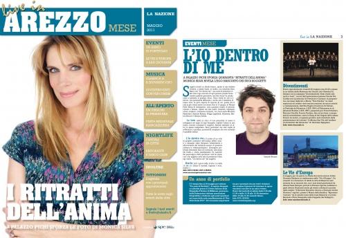 AREZZZO  MAGAZINE ITALY COVER STORY 2011