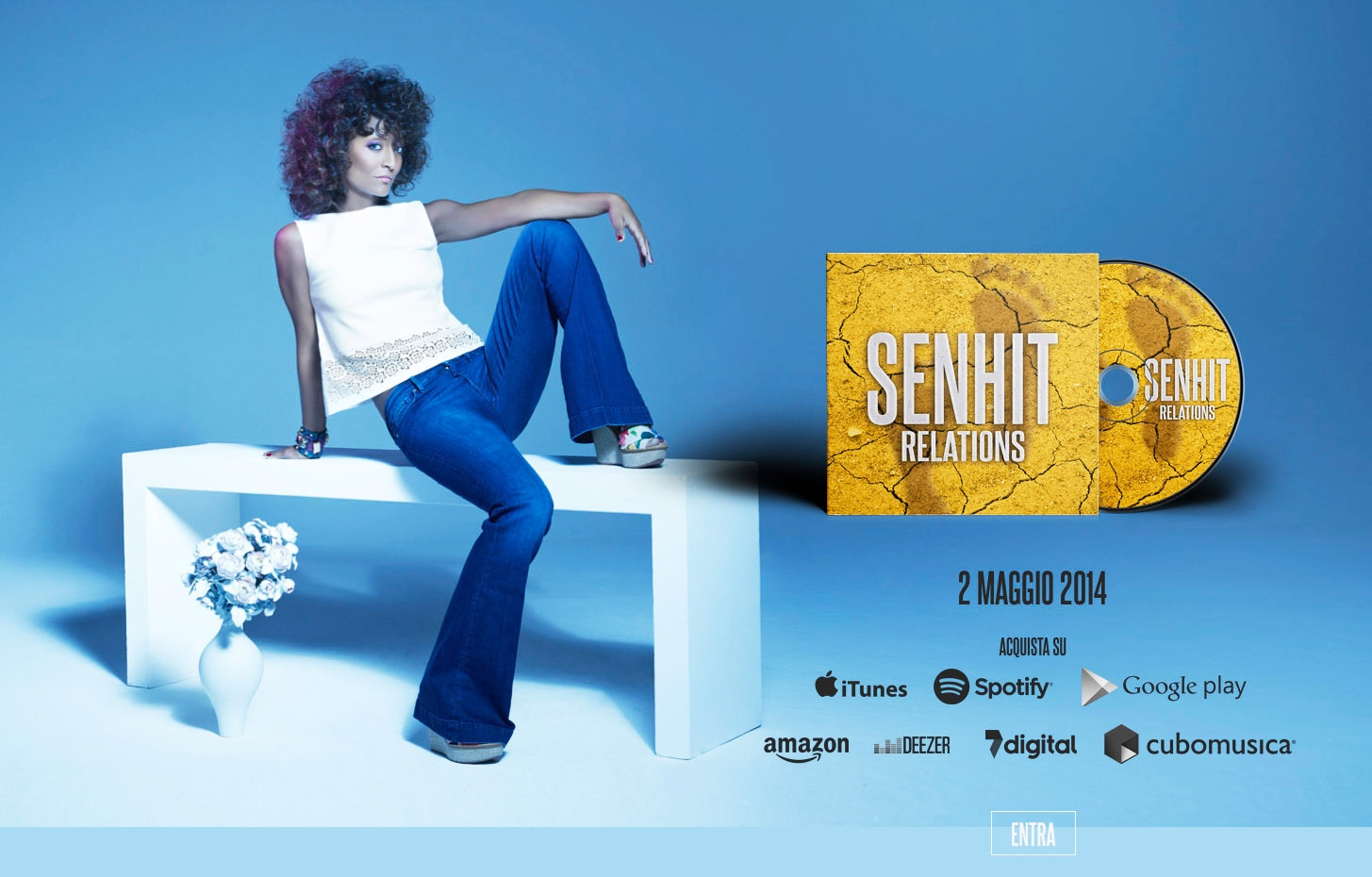 CD Cover  Senhit  2014