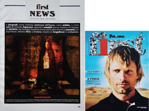 FIRST  MAGAZINE 2008