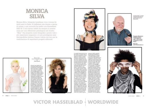 VICTOR HASSELBLAD  MAGAZINE ITALY (COVER STORY) 2011