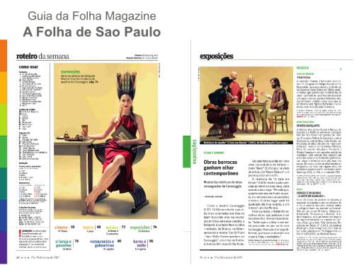 GUAI DA FOLHA  magazine 2015