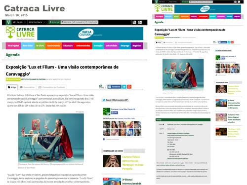 CATRACA LIVRE  Brazil 2015