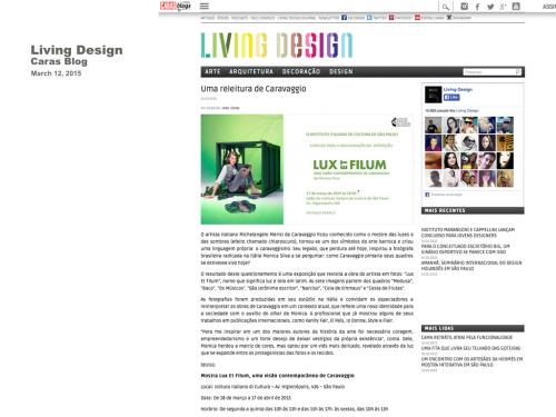 LIVING DESIGN  Brazil 2015